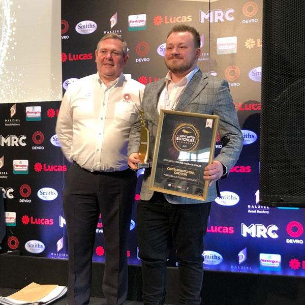 Award Winning Butcher Dan Bolton